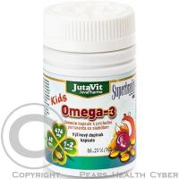 JUTAVIT Omega-3 kids s pomarančovou príchuťou 45 kapsúl