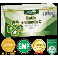 JUTAVIT Rutín + Vitamín C 60 tabliet