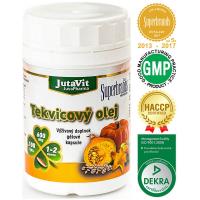 JUTAVIT Tekvicový olej v gélových kapsuliach 600 mg 100 kapsúl