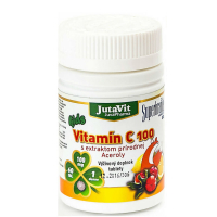 JUTAVIT Vitamin C 100 s extraktom prírodnej Aceroly - kids 60 kapsúl