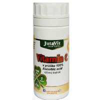 JUTAVIT Vitamín C v prášku 100% Ascorbic acid 160 g
