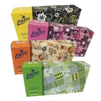LINTEO Papierové vreckovky BOX 2-vrstvové 100 kusov