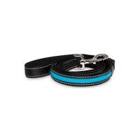 KARLIE FLAMINGO LED nylonové vodítko pre psov s USB nabíjaním modré 120 cm
