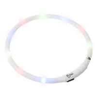 KARLIE FLAMINGO Obojok USB Visio Light 70 cm biely