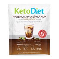 KETODIET Proteínová ľadová káva s čokoládovou príchuťou 7 porcií