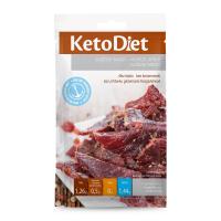 KETODIET Sušené mäso hovädzie jerky 3 porcie