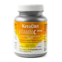 KETODIET Vitamín C 90 tabliet