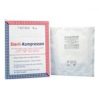 Kompres gáza krabička ster7.5x7.5cm / 25x2 Steriwund