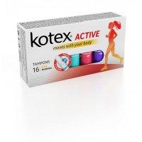 Kotex Tampóny Active Normal 16 ks