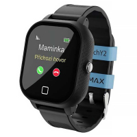 LAMAX WatchY2 Black detské chytré hodinky s GPS čierne