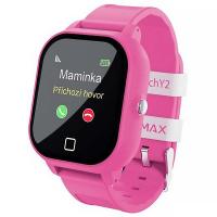 LAMAX WatchY2 Pink detské chytré hodinky s GPS ružové