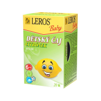 LEROS BABY Detský čaj Citrónik 20x2 g