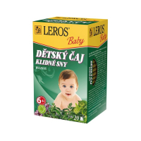 LEROS BABY Detský čaj Pokojné sny 20x1,5 g