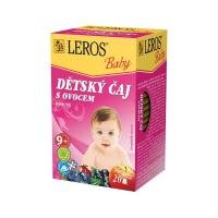 LEROS Baby Detský čaj s ovocím 20x2 g