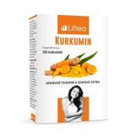 LIFTEA Kurkumín 30 kapsúl