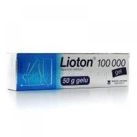 LIOTON gel 100 000 gel der (tuba Al) 1x50 g