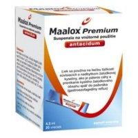 MAALOX Premium perorálna suspenzia 20 vreciek