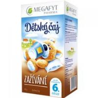 MEGAFYT Detský čaj zažívanie 20 x 2 g
