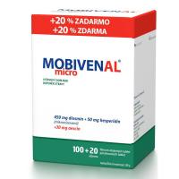 MOBIVENAL micro 100+20 tabliet ZADARMO