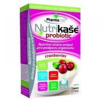 PHARMALINE Nutrikaša probiotic S brusnicami 3x60 g