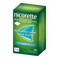 NICORETTE Icemint Gum 2 mg 105 liečivých žuvačiek