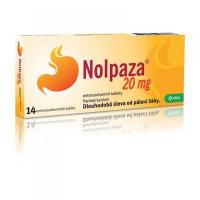 NOLPAZA 20MG TBL ENT 7X20MG