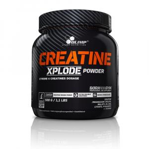 Creatine Xplode, Kreatin, 500 g, Olimp - Pomaranč