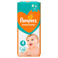 PAMPERS Sleep&Play 4 MAXI 7-14 kg 50 kusov