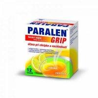 PARALEN GRIP horúci nápoj citrón 650mg/10mg 12 vreciek