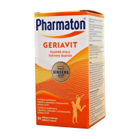 Pharmaton GERIAVIT cps (výživový doplnok 2019 - Sanofi) 1x30 ks
