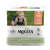 MOLTEX Pure & Nature Midi 4-9 kg  33 ks