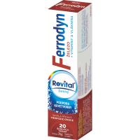REVITAR Ferrodyn šumivé tablety 20 ks