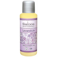 SALOOS Bio telový a masážny olej Levanduľa 50 ml