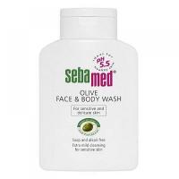 Sebamed Umývacia emulzia s olivovým olejom na tvár a telo 200 ml