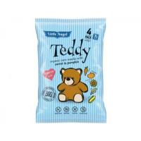 Snack kukuričný Teddy mrkvu a tekvica BIO 4x15g