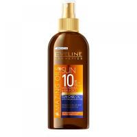 EVELINE Amazing Oils opaľovací olej SPF 10 s akcelerátorom 150 ml