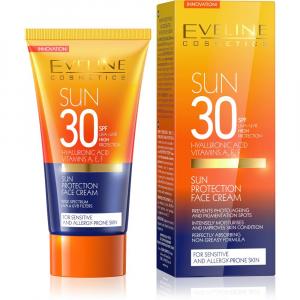 EVELINE SunCare opaľovací krém na tvár SPF 30 50 ml