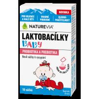 SWISS NATUREVIA Laktobacílky Baby 10 sáčkov