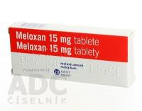 MELOXAN 15 mg tbl 1x20 ks