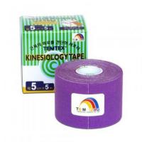 TEMTEX Tejpovacia páska kinesiotape fialová 5cm x 5m
