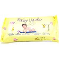 Obrúsky detské vlhčené 15ks Baby Lindo cestovné