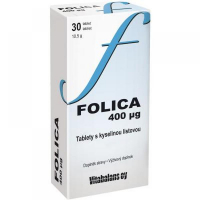 VITABALANS Folica 400 mcg 30 tabliet