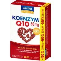 REVITAL Koenzým 60 mg + vitamín E a selén 30 + 30 kapsúl ZADARMO
